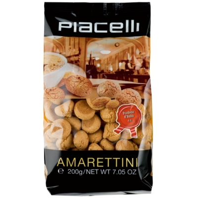 Piacelli Cantuccini sárgabarackmagos keksz 200 g