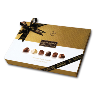 Elit 256G Signature Gourmet White Kókusz Krémmel Töltött Tejcsokoládé