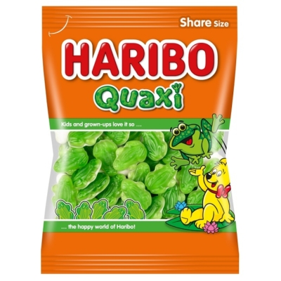 Haribo Quaxi Gyümölcs ízű gumicukor habcukorral 200G