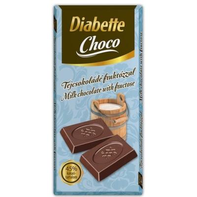 Diabette Choco 80G Tej Fruktózzal