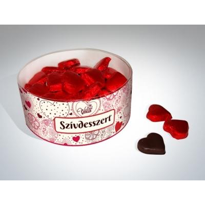 Widder tejcsokoládé Szívdesszert 12G