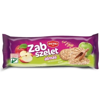 Detki Zab-Szelet 42G Almás-Zabpehely Omlós Keksz