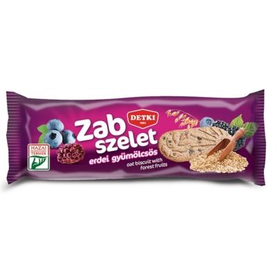 Detki Zab-Szelet 42G Erdei Gyümölcsös Omlós Keksz