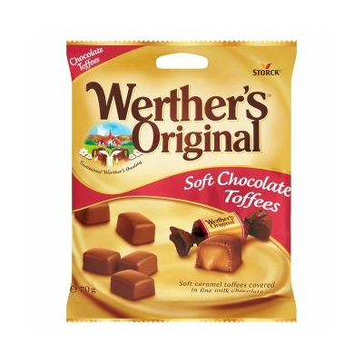 Werther's Original Soft 70G Choc.Toffees