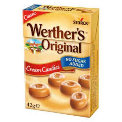 Werther's Original 42G Cukormentes