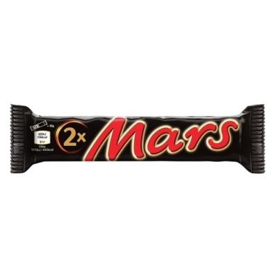 Mars Dupla tejcsokoléba mártott Karamellás-kakaós krémes szeletek 70G