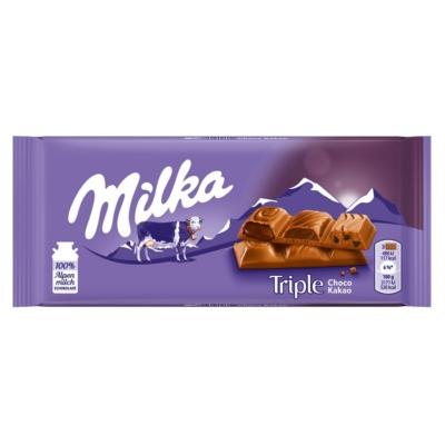 Milka 90G Triple Choco Kakaó