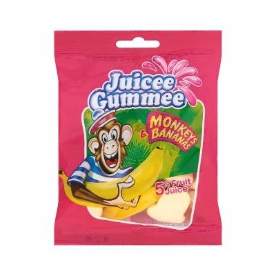 Juicee Gummee 80G Monkeys & Bananas 5% Gyümölcslével  CAJZ1224