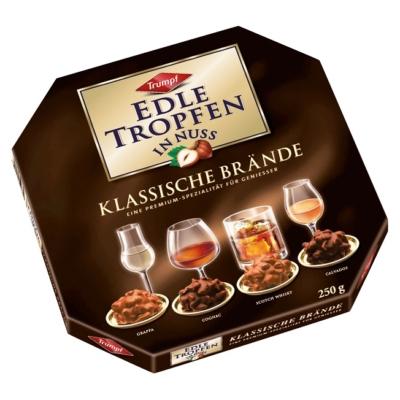 Trumpf Edle Tropfen 250G Klassische Brande Barna/Grappa-Cognac-Whisky-Calvados