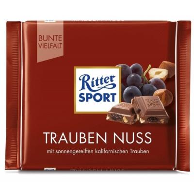 Ritter Sport 100G Trauben Nuss