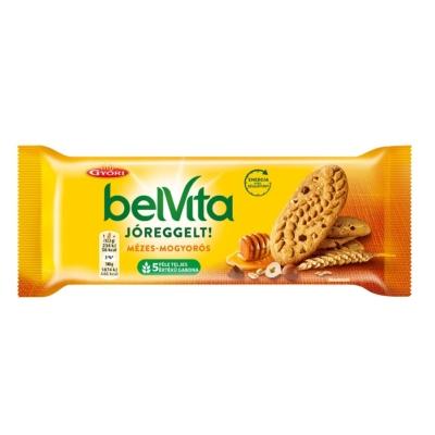 Győri Belvita Jóreggelt mézes-mogyorós keksz 50 g
