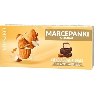 Mieszko marcipán desszert csokoládéval bevonva 230G