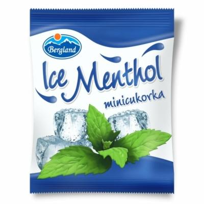 Bergland Ice Mentol mentol ízű cukorka 70G