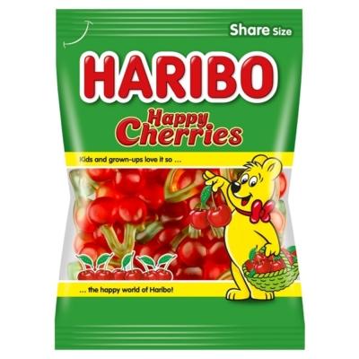 Haribo 200G Happy Cherries (Meggyfürt) 30953